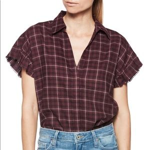Paige Jaylin Plaid Shirt